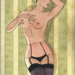 P Berthet Pin up Amazonie BD