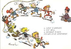 A Franquin Gaston Spirou Amazonie BD