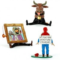 Hergé Moulinsart - Figurines Haddock trio - Amazonie BD