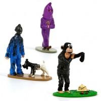 Hergé Moulinsart - Figurines Tintin trio - Amazonie BD