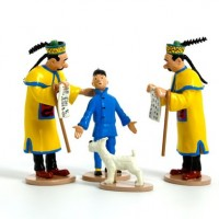 Hergé Moulinsart - Tintin & Milou Scène du mandat d'arrêt  - Le Lotus Bleu - Amazonie BD