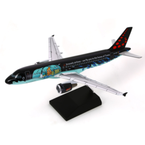 Hergé Moulinsart Airbus A320 Rackham Brussels Airlines Amazonie BD