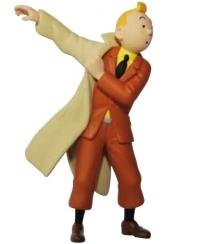 Hergé Moulinsart - porte clés Tintin trench - Amazonie BD