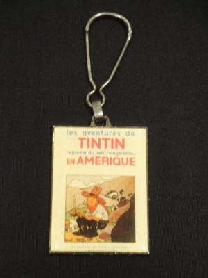 Hergé Tintin – porte clés Corner Coinderou – Amazonie BD