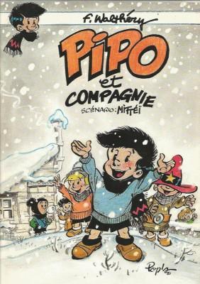 F. Walthéry & Mittei - Pipo et compagnie - Amazonie BD