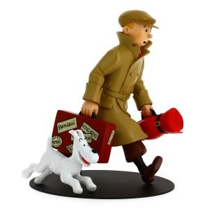 "Hergé Moulinsart - Figurine Tintin & Milou - ""Ils arrivent"" - Amazonie BD"