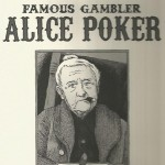 Jérôme Jouvray portfolio - Famous gambler Alice Poker - Amazonie BD