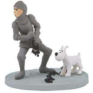 Hergé Moulinsart - Scène plastique - Tintin en Amérique - Amazonie BD