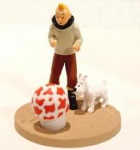 Hergé Moulinsart - Scène plastique - Tintin aviateur - Amazonie BD