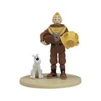 Hergé Moulinsart - Scène plastique - Tintin Scaphandre - Amazonie BD