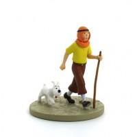 Hergé Moulinsart - Scène plastique - Tintin au désert - Amazonie BD