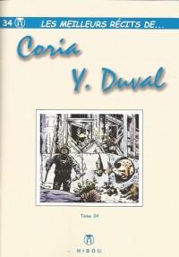 Y. Duval & Coria - Les meilleurs récits - Amazonie BD - Hibou