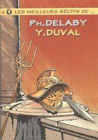 Yves Duval & Ph Delaby - Les meilleurs récits  - Amazonie BD - Hibou