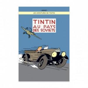 Hergé Moulinsart - Affiche Tintin - Tintin au pays des Soviets - Amazonie BD