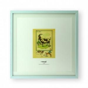 Hergé Moulinsart  - Lithographie didactique Tintin - Amazonie BD