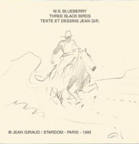 "Jean Giraud - Blueberry ""Three Black Birds"" 1873 * Colorado Territory - Portfolio - Amazonie BD - Stardom"