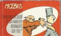 Moebius - Flip-book - John Watercolor et sa fameuse redingote qui tue! - Amazonie BD - Rackham