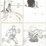 Moebius - Lot de 10 cartes postales - Starwatcher  - Amazonie BD - Gentiane