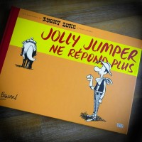"Bouzard - Lucky Luke ""Jolly Jumper ne répond plus"" - Amazonie BD - Blackandwhite"