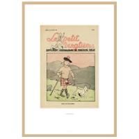 """Hergé Moulinsart - Lithographie """"le petit Vingtième"""" Tintin L'Île noire - Amazonie BD"""