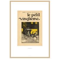 """Hergé Moulinsart - Lithographie Tintin """"le petit Vingtième"""" Le Lotus bleu  -Amazonie BD"""
