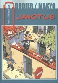 Dodier & Makyo - Janotus - Traits d'Humour - Amazonie BD - Hibou