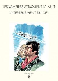 """Jijé & J.M. Charlier - Tanguy et Laverdure """"Les vampires attaquent - La terreur vient du ciel"""" - Amazonie BD"""
