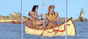 A. Juillard - Plume aux vents - Triptyque - Amazonie BD - Horizon BD