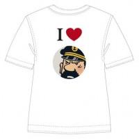 Hergé Moulinsart - Tee Shirt I love Haddock - Amazonie BD