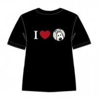 Hergé Moulinsart - Tee Shirt I love Milou - Amazonie BD