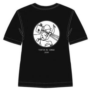 Hergé Moulinsart - Tintin caméra - Tee Shirt - Amazonie BD