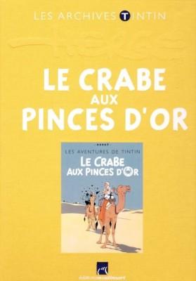 Hergé Moulinsart / Atlas - Archives Tintin - Le crabe aux pinces d'Or - Amazonie BD
