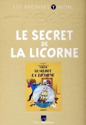 Hergé Moulinsart / Atlas - Archives Tintin - Le secret de la Licorne - Amazonie BD