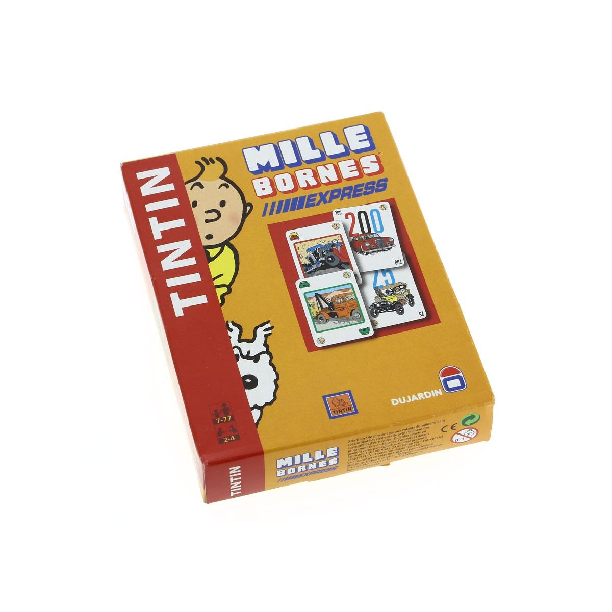 Herg tintin mille bornes express jeux de soci t for Edition dujardin