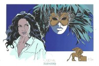 Philippe Francq - Largo Winch ex libris - Amazonie BD