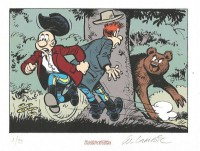 Willy Lambil - Les tuniques bleues - ex libris Raspoutine - Amazonie BD