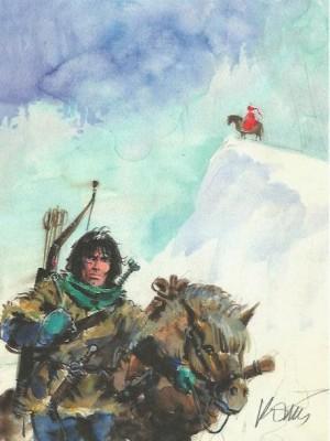 Grezgorz Rosinski - Thorgal - ex libris Raspoutine  - Amazonie BD