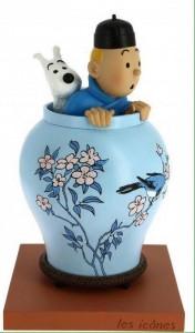 """Hergé  Moulinsart - Tintin Potiche - Collection """"Les Icônes"""" - Amazonie BD"""