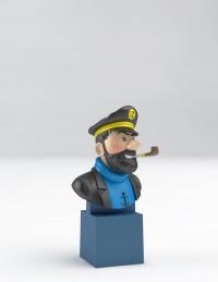 Hergé Moulinsart  - Capitaine Haddock - Buste sur socle - Amazonie BD