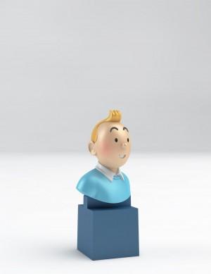 Hergé Moulinsart  - Tintin - Buste sur socle - Amazonie BD