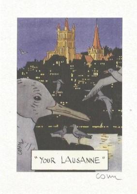 Cosey - Lausanne - ex libris - Amazonie BD