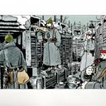 "Tardi - Estampe ""Putain de guerre"" - Diptyque - Amazonie BD"