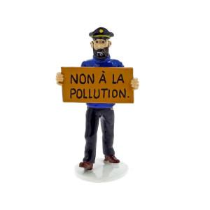 Hergé Moulinsart - Tintin - Carte de voeux 1972 - Set de figurines Série 6 - Amazonie BD