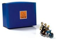 Hergé Moulinsart - Tintin et Dupondt sur la moto - Amazonie BD