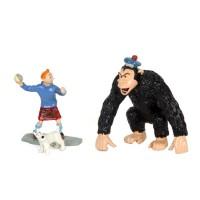 Hergé Moulinsart - Tintin et le gorille Ranko - Amazonie BD