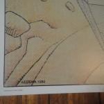 Moebius - Rare affiche - Réserve géologique des Alpes de Haute Provence - Amazonie BD