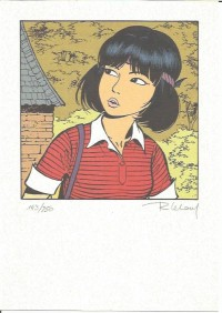 Roger Leloup - Yoko Tsuno ex libris - Amazonie BD