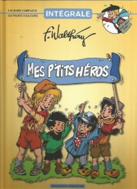 """F. Walthéry - Intégrale """"Mes petits héros"""" - Amazonie BD"""