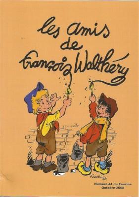 François Walthéry – Natacha – Oufti, les amis de François Walthéry - Amazonie BD