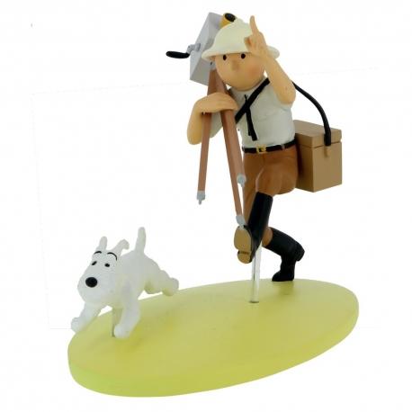 Milou Cinéaste Figurine Et Résine Hergé Au Tintin En Congo jq4A35RL